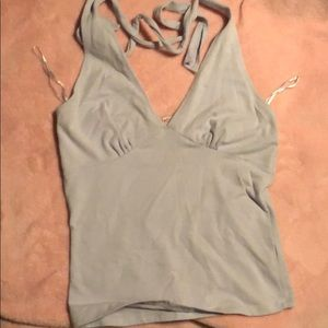 Lavender Halter top perfect for a cruise.